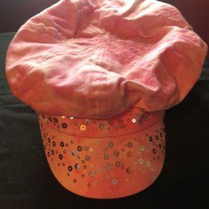 Pink Sequin Hat